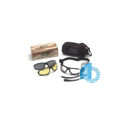 Стрелковые очки Pyramex XSG KIT (со сменными линзами)